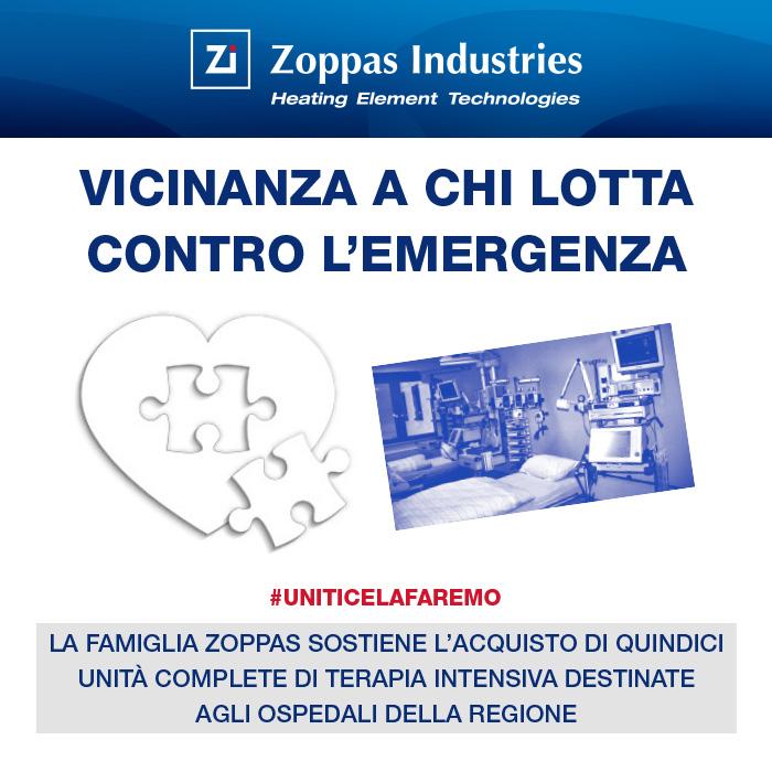 Zoppas Covid Donazione